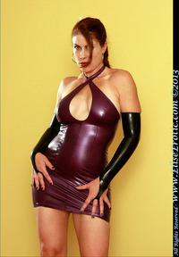 erotic milf photo pvc latex fetish elise erotic milf babe dress