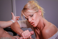 exclusive milf gallery pictures general over handjobs busty milf gina stroking