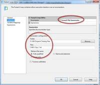 filename.txt ssis step load multiple