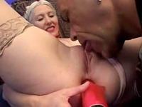 granny asshole photos tube movs old granny gets dildo fucked asshole