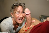granny hand job pictures leilani lei stares cock lustful eyes giving hand granny pictures mature handjob