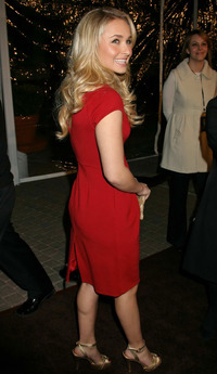 granny nude hayden panettiere sexy red dress
