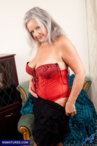 granny nudist galleries april thomas curvy granny boobs hot sexy lingerie attachment
