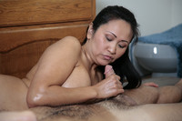 hand job mature pics gallery sexy mature asian gives soapy handjob air mat