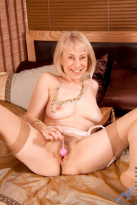 hazel mature porn blonde toys high heels close hazel may mature milf beads old hairy snatch