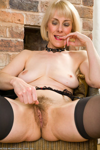 hazel mature porn galleries pics allover hazel classy mature takes off black dress shows hairy snatch