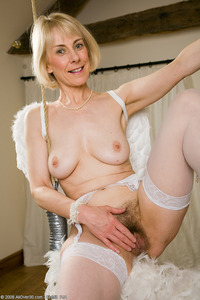 hazel mature porn mature blonde hazel struts year old stuff these angel pic