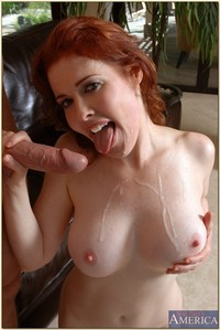 hot mature moms pics pictures mature redhead mae victoria takes cock cunt cum tits
