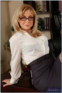 hot milf photo hosted tgp nina hartley pics hot milf gets screwed desk stockings picture