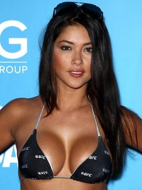 hot moms in bikini arianny celeste looking hot bikini ufc fight week party las vegas ali landry azure celebs home