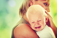 hot moms in underwear bigstock mother holding crying baby