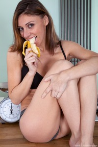 hot mother porn pic media original lovely hot mom chloe poses banana august