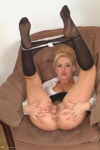 hottest mature in porn gallery hot horny blonde mature pantyhose