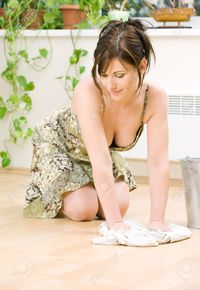 house wife porno pictures dolgachov bright picture lovely housewife cleaning floor stock photo sexy porn