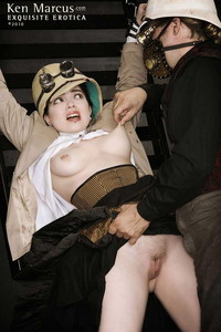 lady porn photos bondage porn lady clankington aka nicotine steampunk cosplay photo
