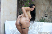 latina mom pussy pic isis love busty latina milf gets creampie filling