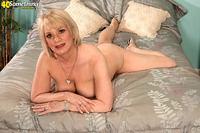 mature blonde porn pics shorthaired mature blonde from something magazine enjoys posing
