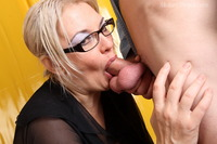 mature blonde porn pics damn beautiful old blonde lets young rod deep mouth