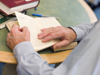 mature close up depositphotos close mature students hands turning book page library stock photo