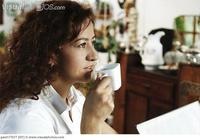 mature close up photo close mature woman drinking cup tea gws