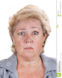 mature face pics bell palsy lopsided face mature woman unable move right half royalty free stock photo