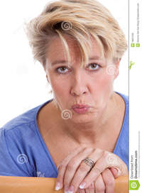mature face pics woman sad face royalty free stock