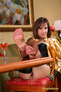 mature feet porn pics emnwnp brunette stockings foot fetish high heels mature milf shows sexy feet