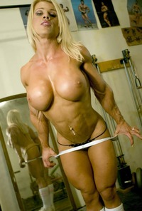 mature female nude photos muscle athlete famous wife
