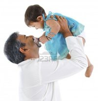mature girl on girl szefei mature traditional indian father raise baby girl isolated background photo
