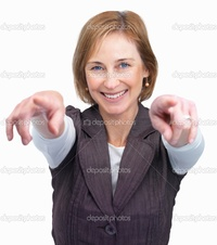 mature lady photos depositphotos pretty mature lady pointing both hands white backg stock photo