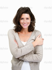 mature lady photos depositphotos portrait attractive mature lady isolated over white stock photo