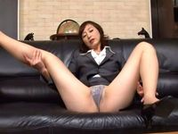 mature milf thumbs contents office nfdm japanese woman president set