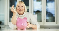mature mom pics finances woman mature pig bank money coin wide family unique ways give mom gift security