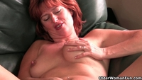 mature mom pussy tube xhamster redheaded mature mom plays nipples pussy