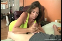 mature moms handjobs original barbara almeida handjobs cock until cums bacb