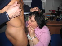 mature office porn pics amateur porn private mature italian mom blows office photo