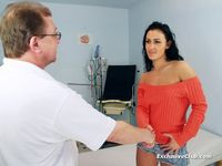 mature pussy images nada visits gyno doctor mature pussy speculum exam