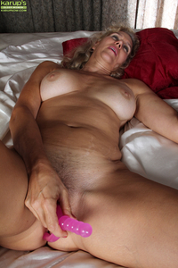 mature pussy porn pic pics galleries amateur older mom cally showing hard nipples toying dildo knees