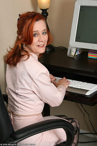mature red head galleries large hbjdefc allover computer maggie mature office redhead secretary