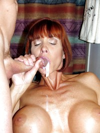 mature red head porn free porn pics mature redhead busty wife milf facial old set