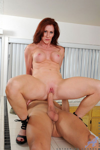 mature red head porn mature redhead porn gets fucked