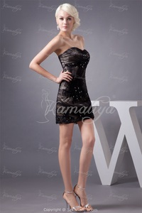 mature sexy pri design fashion sexy mature black holiday mini fine netting sweetheart special occasion homecoming dress
