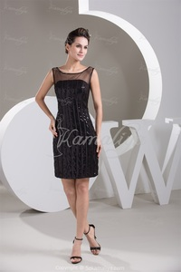 mature sexy pri real sexy elegant mature modern sequins holiday mini black satin evening dress