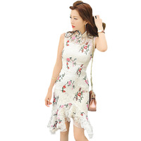 mature sexy htb rxxxxxbcxpxxq xxfxxxr summer retro lace embroidery cheongsam font dress pack hip mature wholesale sexy ladies dresses