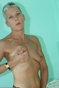 mature small tits amateur porn nice looking mature grey hair small tits photo