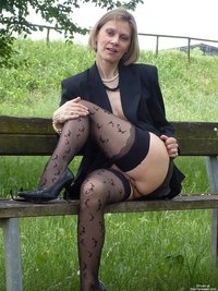mature wife picture photos flashing pussy photo mature wife showing cunt park