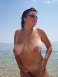 mature wife sexy pics russian mature wife posing naked public beach