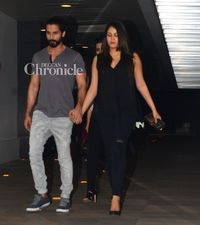 mature wifes gallery preview entertainment bollywood snapped shahid kapoor wife mira rajput are inseparable