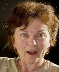 mature women pictures sima surprised shocked mature women stock photo