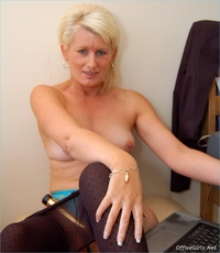 matures and pantyhose galleries large sczzl blonde mature pantyhose sally taylor solo